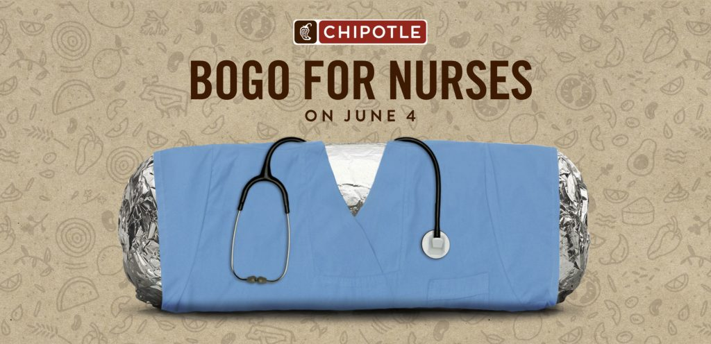 Chipotle Offers Buy-One-Get-One Free Deal for Nurses